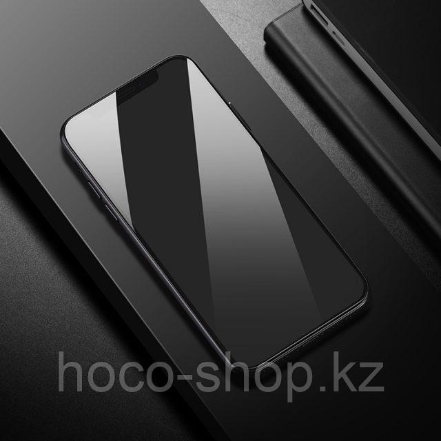 Flash attach G1 полноэкранное HD закаленное стекло для iPhone XsMax Black - фото 9