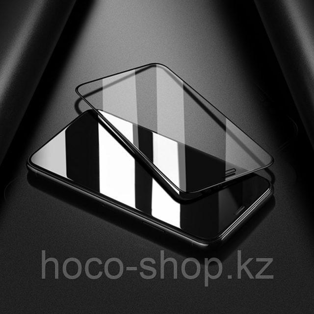 Flash attach G1 полноэкранное HD закаленное стекло для iPhone XsMax Black - фото 7