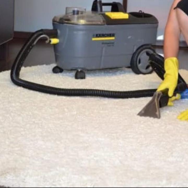 Влажная чистка ковров