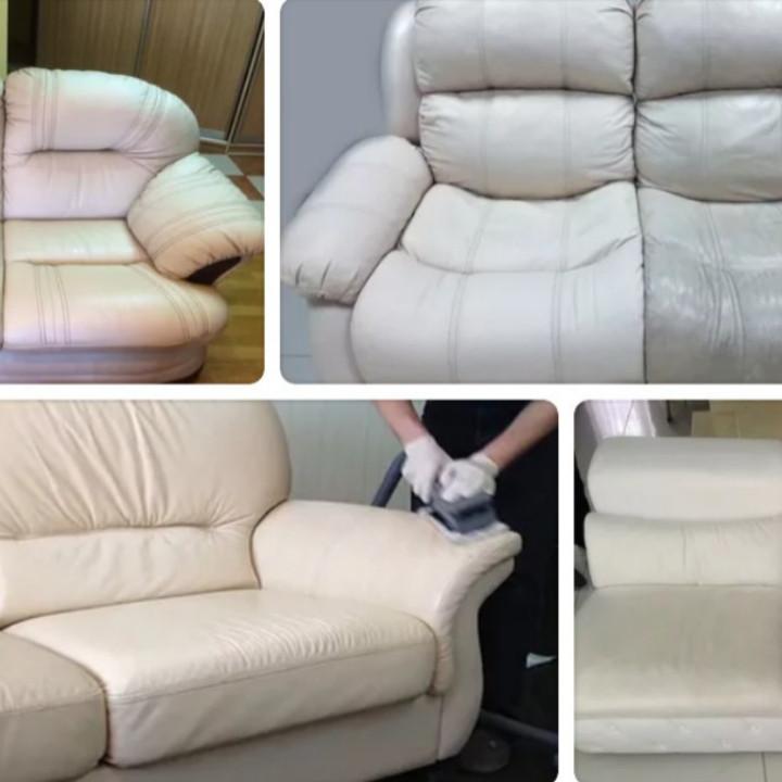 Кожаная мебель чистка