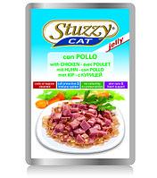 STUZZYCAT - для кошек (с Курицей в желе) 100гр.