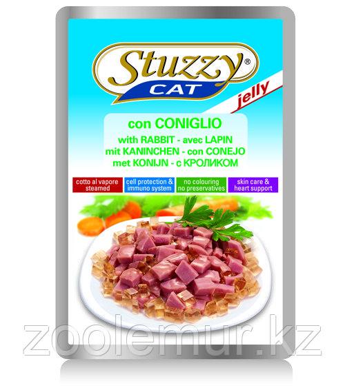 STUZZYCAT - для кошек (с Кроликом в желе) 100гр.