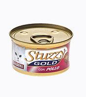 Stuzzy Gold консервы для кошек (кусочки курицы в соусе) 85 гр.