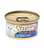 Stuzzy Gold консервы для кошек (мусс из камбалы) 85 гр.
