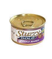 Stuzzy Gold консервы для кошек (мусс из белой рыбы) 85 гр.