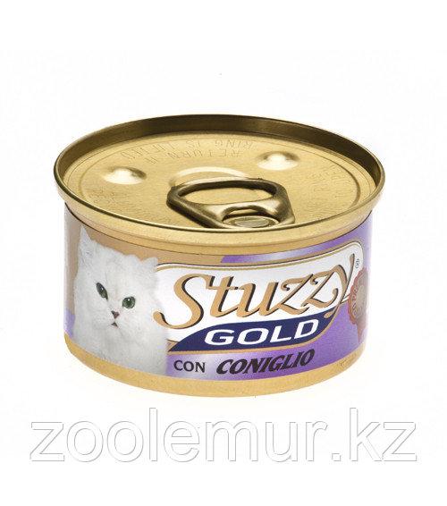 Stuzzy Gold консервы для кошек (мусс из кролика) 85 гр.