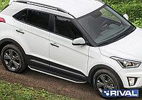 "Пороги на Hyundai Creta 2016-  ""Premium"""