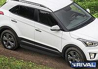 "Пороги на Hyundai Creta 2016-  ""Premium-Black"""