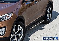 """Пороги на Kia Sorento Prime 2015-2017 """"Premium"""""""