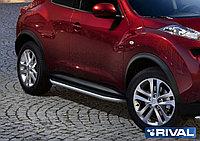 "Пороги на Nissan Juke 4WD 2010-2016 ""Premium"""