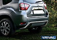 Защита заднего бампера Nissan Terrano 2014- d57 скоба