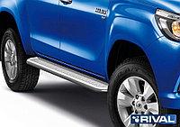 Пороги с листом Toyota Hilux 2015- d57