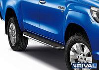 "Пороги на Toyota Hilux 2015- ""Premium"""