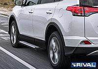 """Пороги на Toyota Rav 4 2013-2015 """"Bmw-Style"""""""