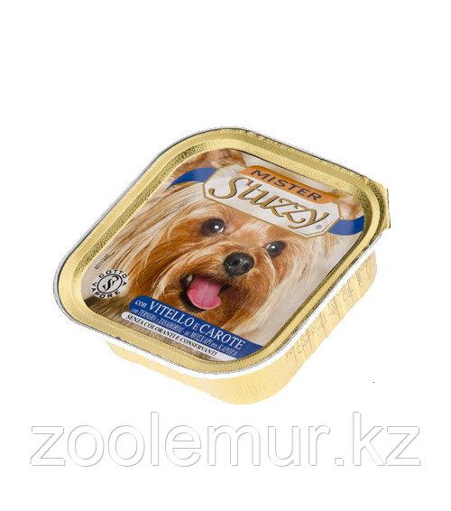 Stuzzy «Mister Stuzzy Dog» консервы для собак (с телятиной и морковью) 150 гр.