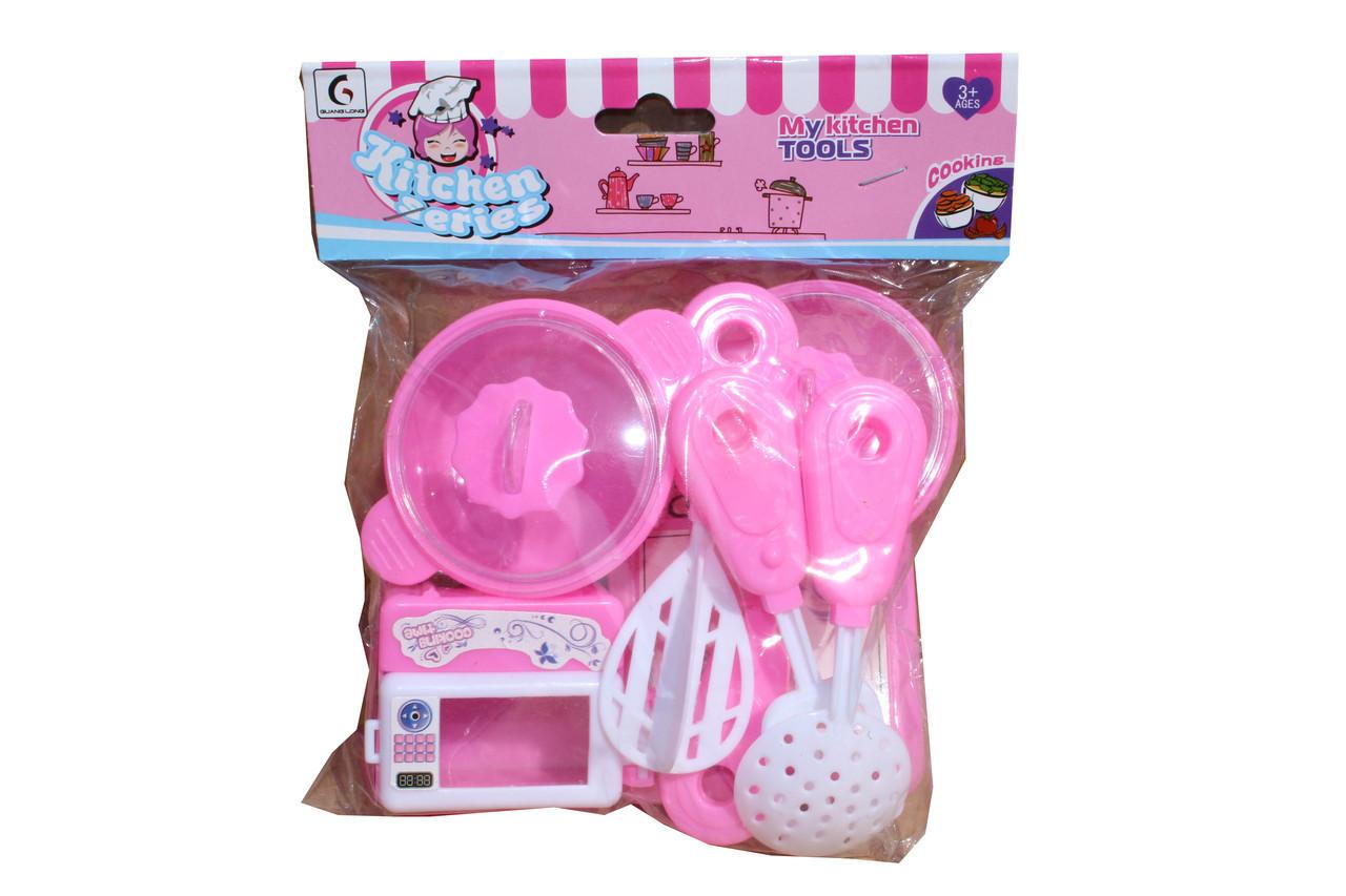 Розовый посуда 0203