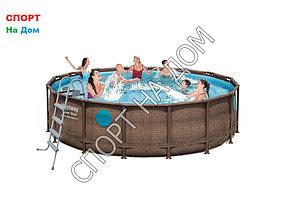 Каркасный бассейн Bestwey 56666/56725 ( 488 х 122 см, на 19500 литров)