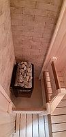 """Финская сауна. Размер = 2,2 х 1,7 х 2,1 м. Адрес: г. Алматы, пос-к """"Юбилейный"""". 17"""