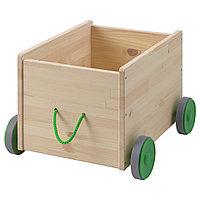Контейнер д/игрушек ФЛИСАТ с колесиками ИКЕА, IKEA