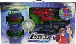 "Silverlit Игровой набор ""Лазерная атака 2.0"" (свет, звук)"