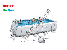 Каркасный сборный бассейн Bestwey 56466 (549 х 274 х 122 см, на 14812 литров)