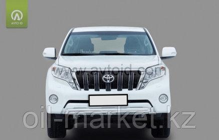Защита переднего бампера короткая для Toyota Land Cruiser Prado 150 (2009-2017г), фото 2