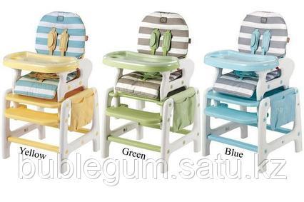Многофункциональный и практичный стульчик для кормления Happy Baby Oliver