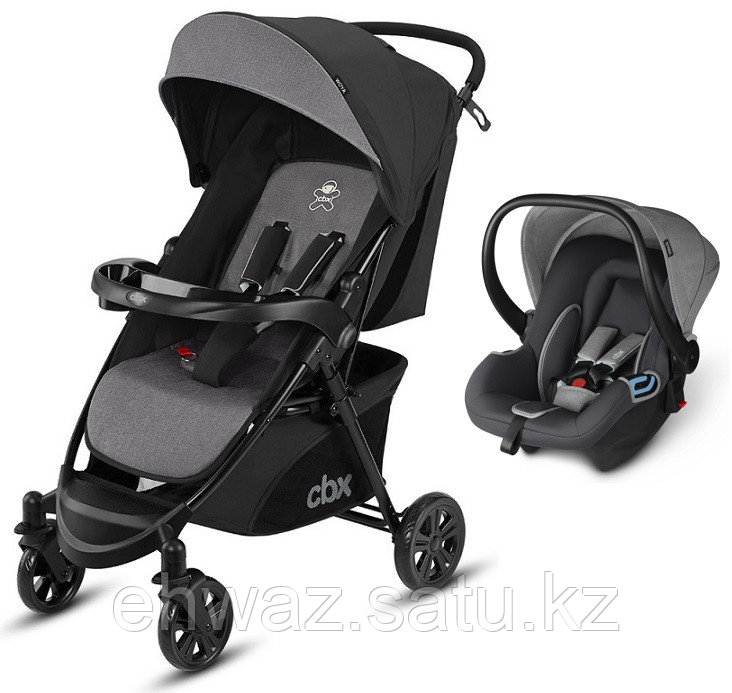 Коляска 2в1 CBX by Cybex Woya Travel System Comfy Grey ​