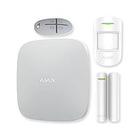 Комплект беспроводной сигнализации Ajax Hub kit белый