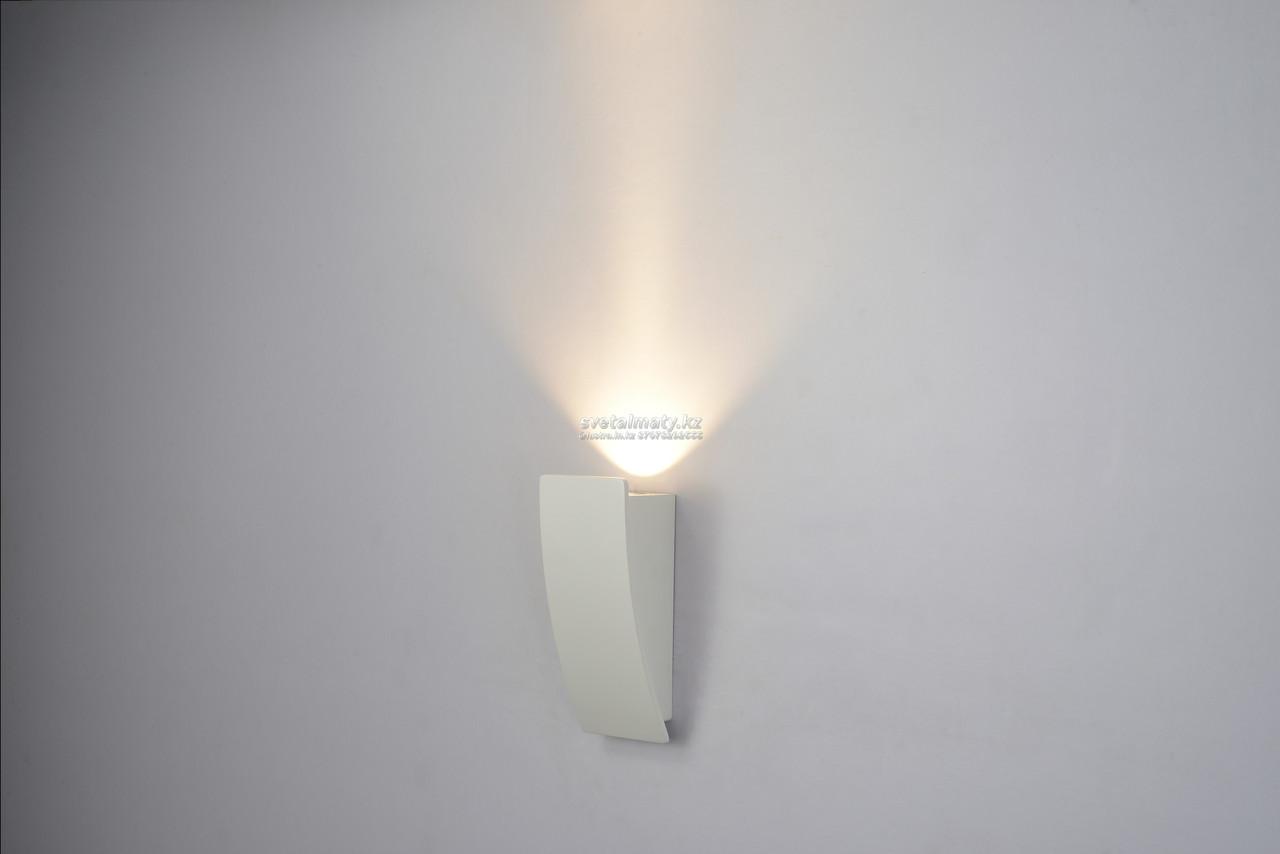 Светодиодный настенный светильник белый