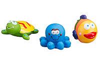 """Набор игрушек для ванной """"Морские обитатели"""""""