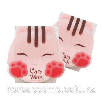Компактная пудра Cats Wink Clear Pact