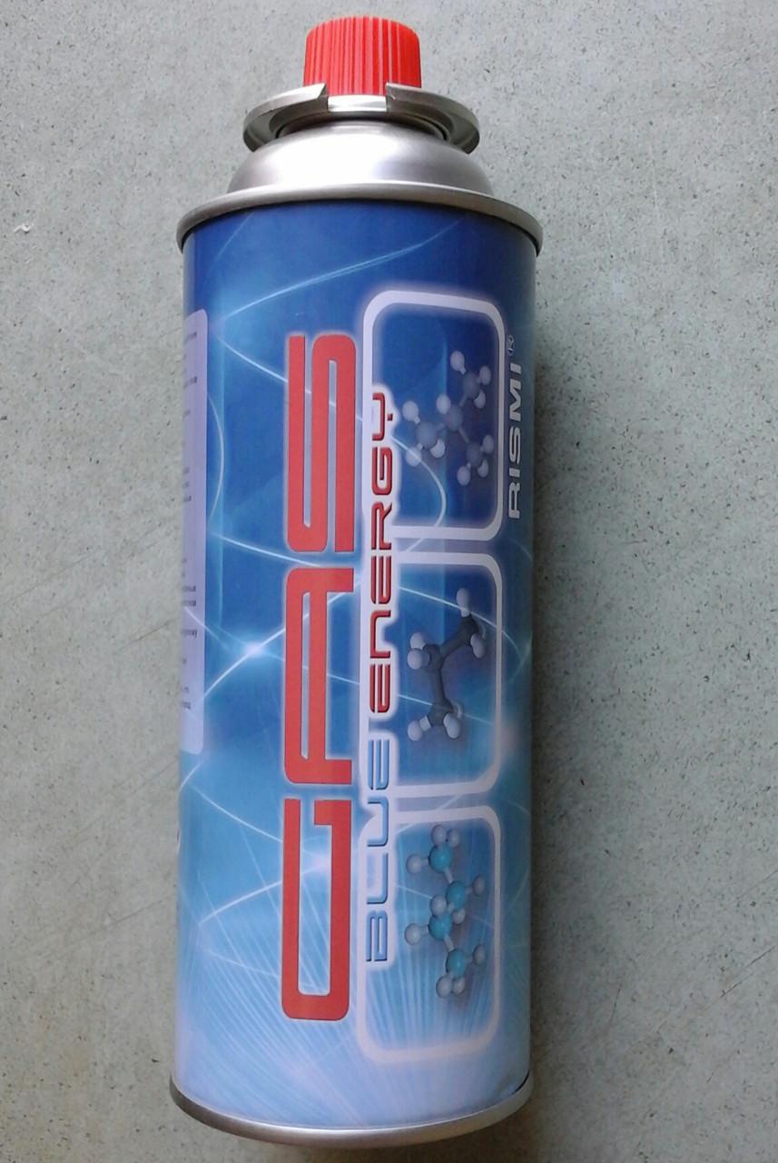 Баллончик газовый Blue Energy Rismi (цанговое соединение)