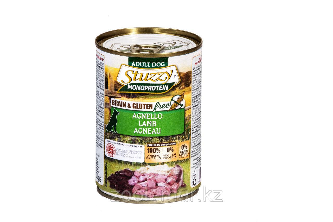 Stuzzy Monoprotein консервы для собак, ягненок 400г
