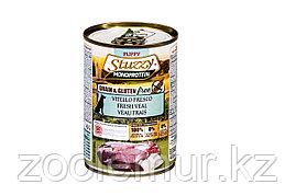 Stuzzy Monoprotein консервы для щенков, свежая телятина 400г