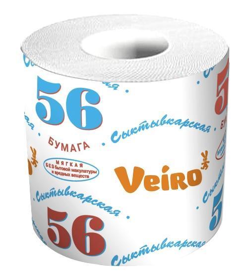 Рулонная туалетная бумага «Сыктывкар 56»