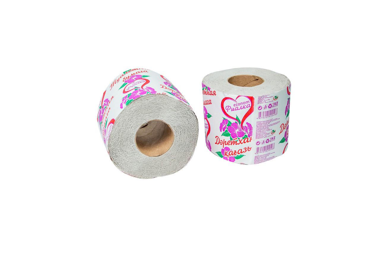 Рулонная туалетная бумага «Фиалка»