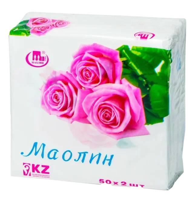 Салфетки «Маолин» Роза 50×2 шт.