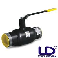 Кран шаровой сталь Ду125 Ру25 под приварку стандартнопроходной рукоятка LD КШ.Ц.П.125/100.025.Н/П.02