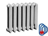 Радиатор чугун МС-140М 500 4 секции Ду20 160 Вт/секция МЗОО
