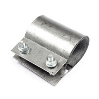 Хомут ремонтный сталь двухсторонний Ду20(26-28) L=40мм