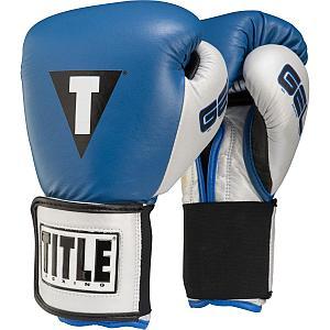 Боксерские перчатки Title Classic Pro Style Training кожазам