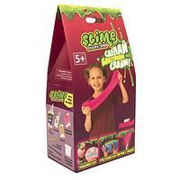 """Делаем Слайм - Малый набор для девочек Slime """"Лаборатория"""",розовый, 100 гр."""