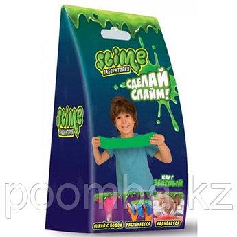 "Делаем слайм - Малый набор  Slime  ""Лаборатория"", зеленый, 100 г."