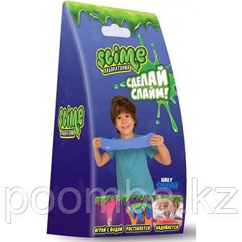 """Делаем слайм - Малый набор Slime """"Лаборатория"""", синий, 100 гр."""