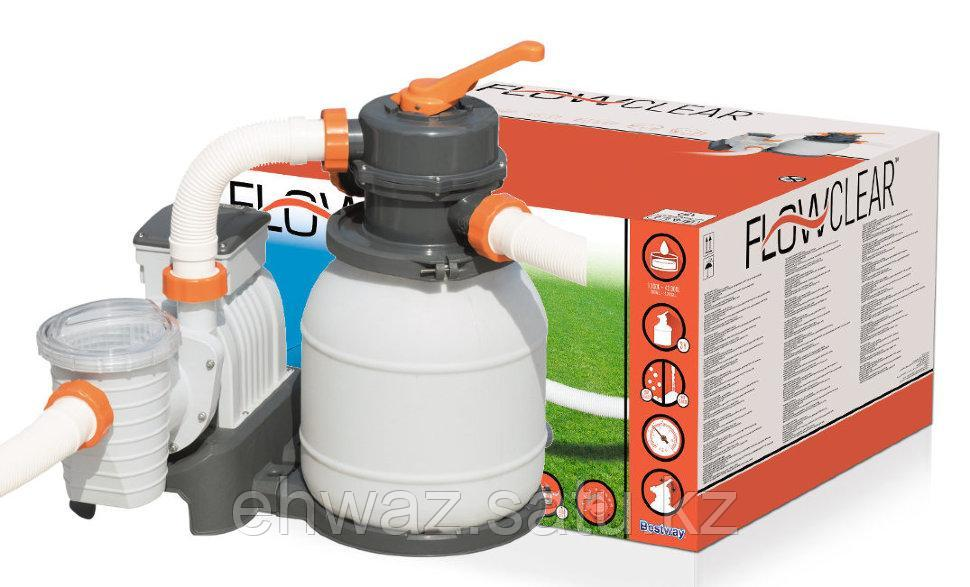 Песочный фильтр-насос 220В, 3785 л/ч, Bestway