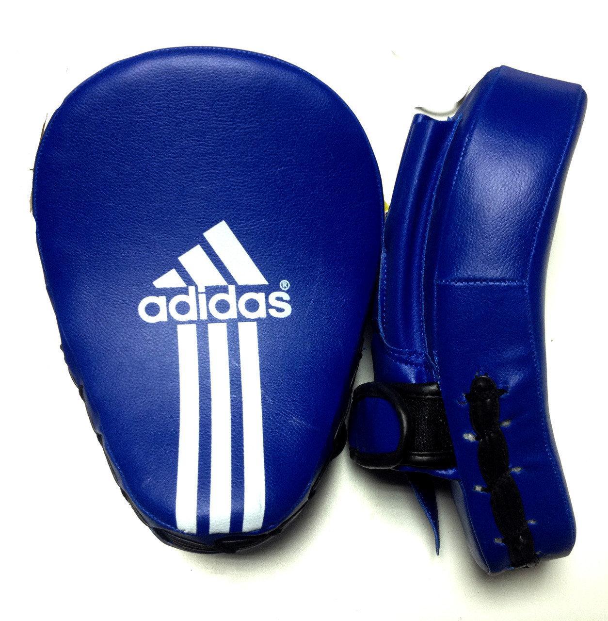 Боксерские лапы кожа заменитель