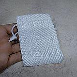 Мешочек холщовый, белый, 9*7см, фото 2