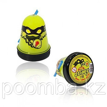 "Slime(Слайм) ""Ninja"" Желтый, светится в темноте, 130гр"