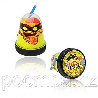 "Slime(Слайм) ""Ninja"" Смешивай цвета 2 в 1, Желтый, Красный, 130гр"